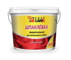 Готовая шпаклёвка KrasLand масляно-клеевая универсальная, 10 кг