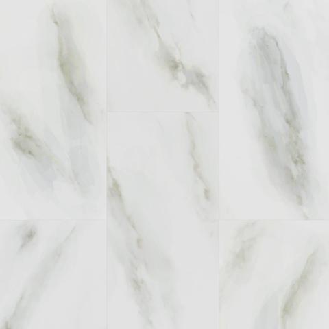 Виниловый ламинат Fargo Stone Белый Мрамор 6089-1 (уп 1.8 м2)