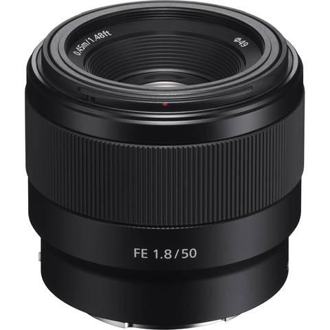 SEL-50F18F объектив Sony FE 50mm f/1.8