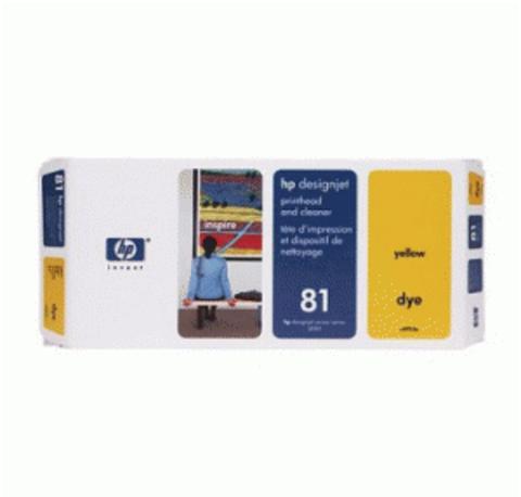 печатающая головка HP 81 Yellow
