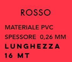 Лента PVC ROSSO для обвязки Alvaro Bernardoni 16 метров