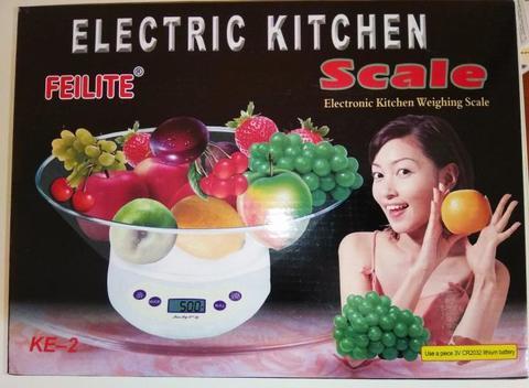 Кухонные эл. весы от 1г до 5 кг
