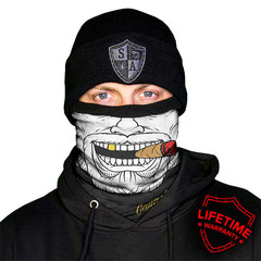 Шарф-труба SA Fleece Gangster (с черепом)