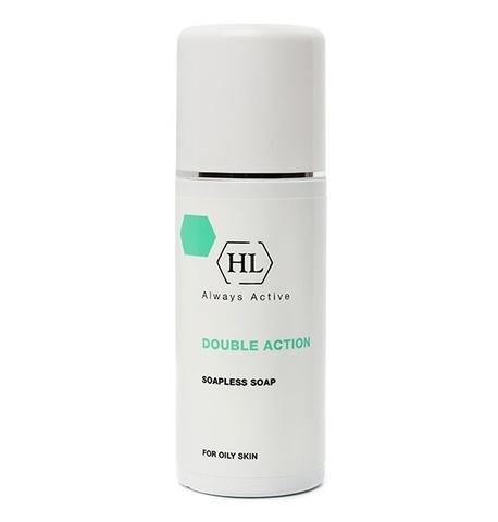 Мыло жидкое ихтиоловое для проблемной кожи Holy Land Double Action Soapless Soap, 125 мл.