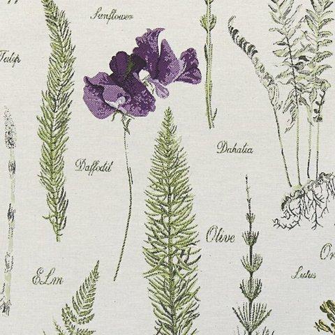 Портьерная ткань Флора бежевый