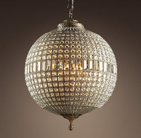 Подвесной светильник копия 19th C. Casbah Crystal Chandelier 25