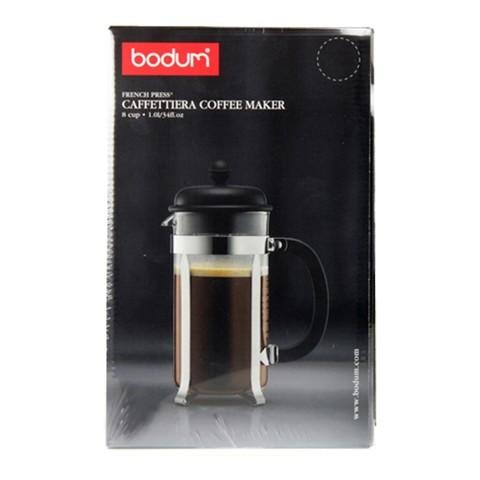 Уценка! Френч-пресс Bodum Caffetiera (1 литр), черный