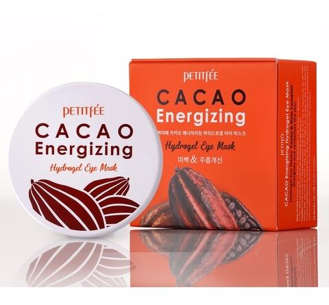 Тонизирующие патчи с экстрактом какао Petitfee