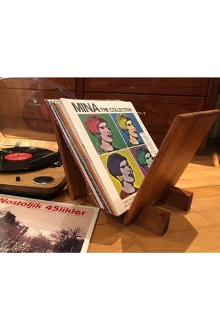 Vinil rəfi \ Полка для винила \  Shelf for vinyl taxta