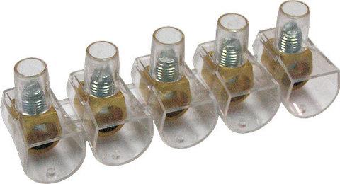 Клеммник концевой изолированный ККИ 10 мм2 (5х1) TDM