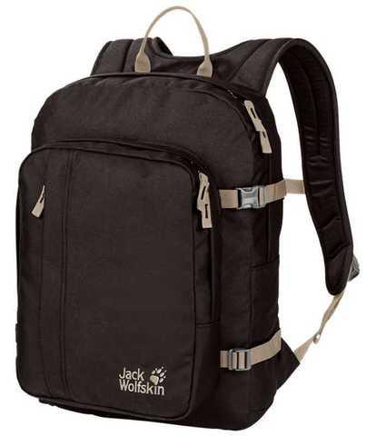Картинка рюкзак городской Jack Wolfskin Campus walnut - 1