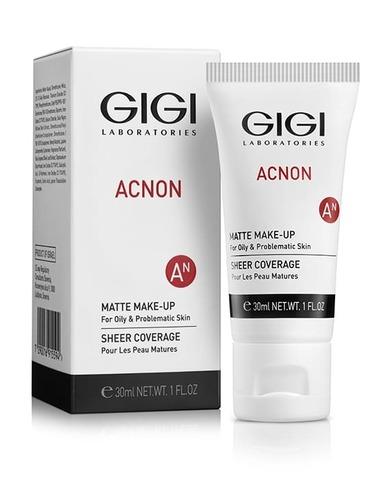 Gigi Acnon Matte makeu Крем-тон матирующий для пробл. и жирн. кожи, 30мл
