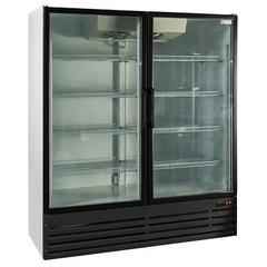 Шкаф холодильный STANDART CRYSTAL 14M (1645х685х1940мм, 6,9кВт) (стеклянная дверь),  +1° ... +10°