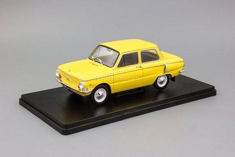 ZAZ-968A Zaporozhets yellow 1:24 Legendary Soviet cars Hachette #37