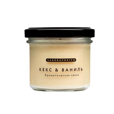 Ароматическая свеча (кекс и ваниль), 100 мл.