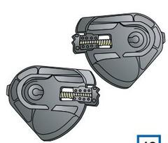 Крепления визора Shark S600-S900/Ridill