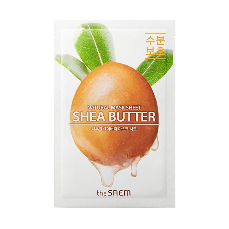 Маска тканевая с маслом ши The Saem Natural Shea butter Mask Sheet