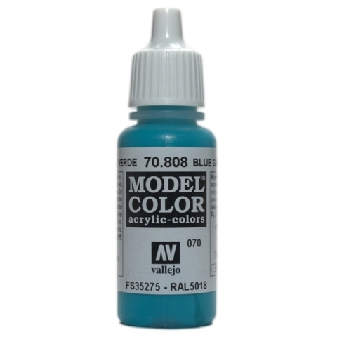 Model Color Blue Green 17 ml.