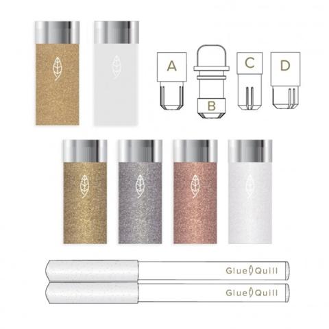 Стартовый набор для эмбоссинга Glue Quill Starter Kit
