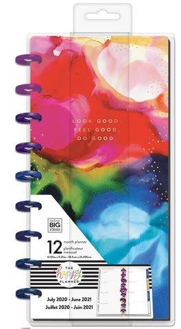 Планер Skinny Classic Happy Planner® - Ink Splash- 12мес - 14х24 см