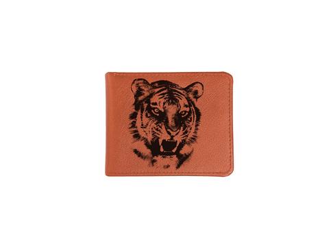 """Купюрница """"Оскал тигра"""", рыжая"""