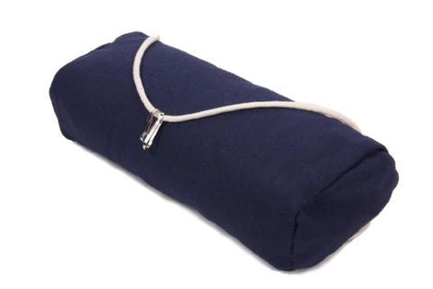 Подушка для гамака из льна темно-синяя RGP6