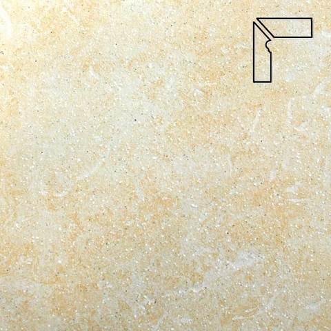 Stroeher - Keraplatte Roccia 833 corda длина стороны угла 290 артикул 9117 - Плинтус клинкерной ступени левый