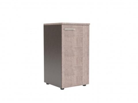 XLC 42.1(L/R) Шкаф колонка с глухой малой дверью и топом (425х410х795)