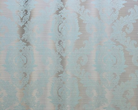 Портьерная ткань жаккард Вероника голубой