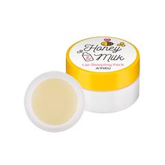 Ночная маска для губ A'PIEU Honey&Milk Lip Sleeping Pack