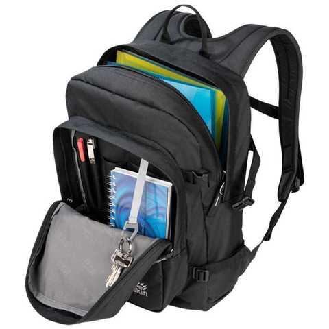Картинка рюкзак городской Jack Wolfskin Campus walnut - 3