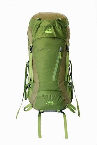 Рюкзак туристический Tramp Floki 50+10 TRP-046 (зеленый)
