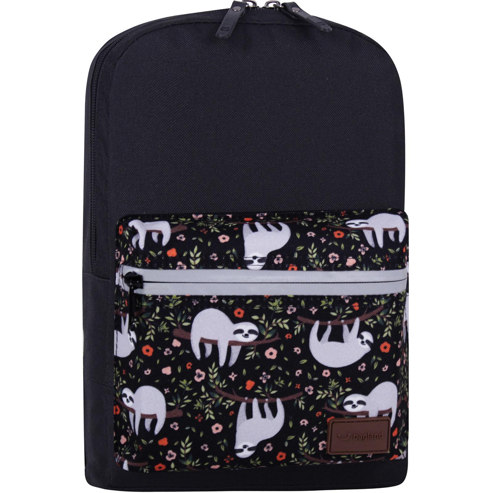 Молодежные рюкзаки Рюкзак Bagland Молодежный mini 8 л. черный 743 (0050866) IMG_7714_суб743_-1600.jpg