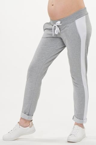 Спортивные брюки для беременных 10440 серый
