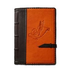 Ежедневник кожаный в стиле 19 века модель 11