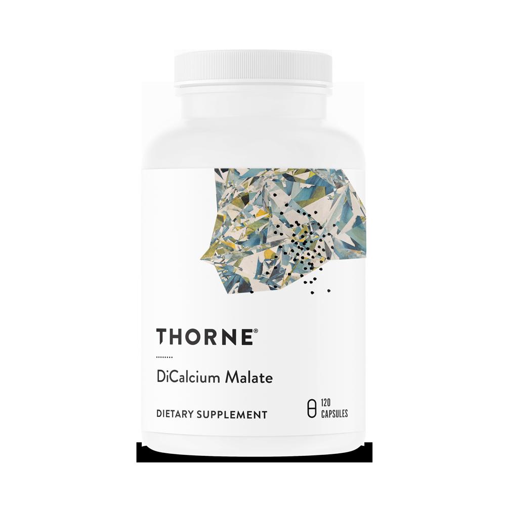 Дикальций малат, DiCalcium Malate, Thorne Research, ( 120 капсул в растительной оболочке)