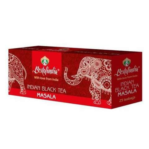 Чай MASALA черный индийский пакет 25г Bestofindia
