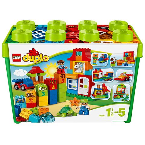 LEGO Duplo: Набор для веселой игры 10580 — Deluxe Box of fun — Лего Дупло