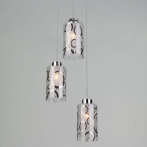 Подвесной светильник 50000/3 хром