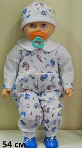 Младенец Андрейка с соской (Пенза)