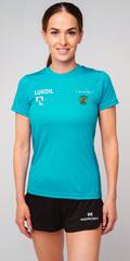 Элитная женская футболка Nordski Sport Breeze RUS