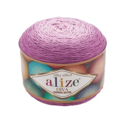 Пряжа Alize Diva Ombre Batik цвет 7244