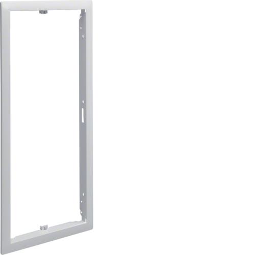 Наружная рамка без дверцы щитка для сплошных стен 9мм,Volta, 4-рядного RAL9010