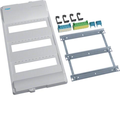 Съемный пакет,Volta,передняя панель,клеммы, дин-рейки, 3-рядного
