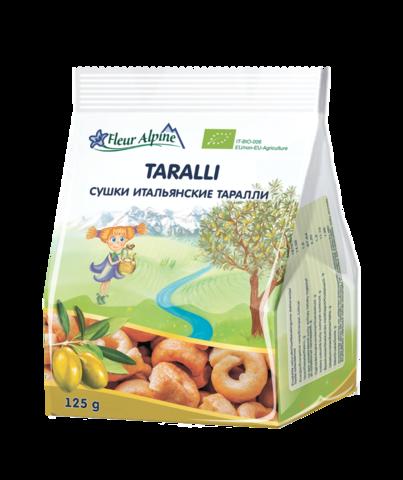 Сушки итальянские Таралли Fleur Alpine Organic