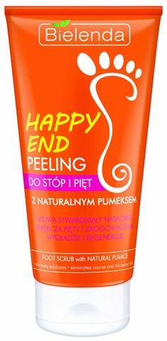 HAPPY END Пилинг для ступней и пяток с натуральной пемзой, 125 мл