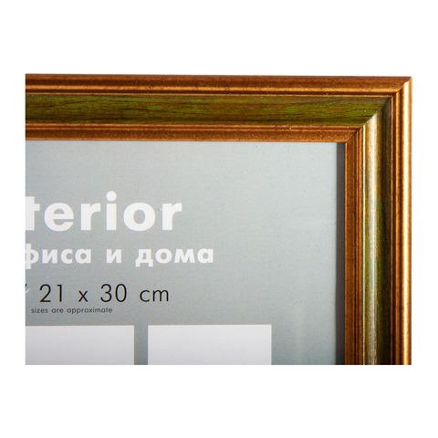Фоторамка Оптима 21х30 Формат-А королевский зеленый
