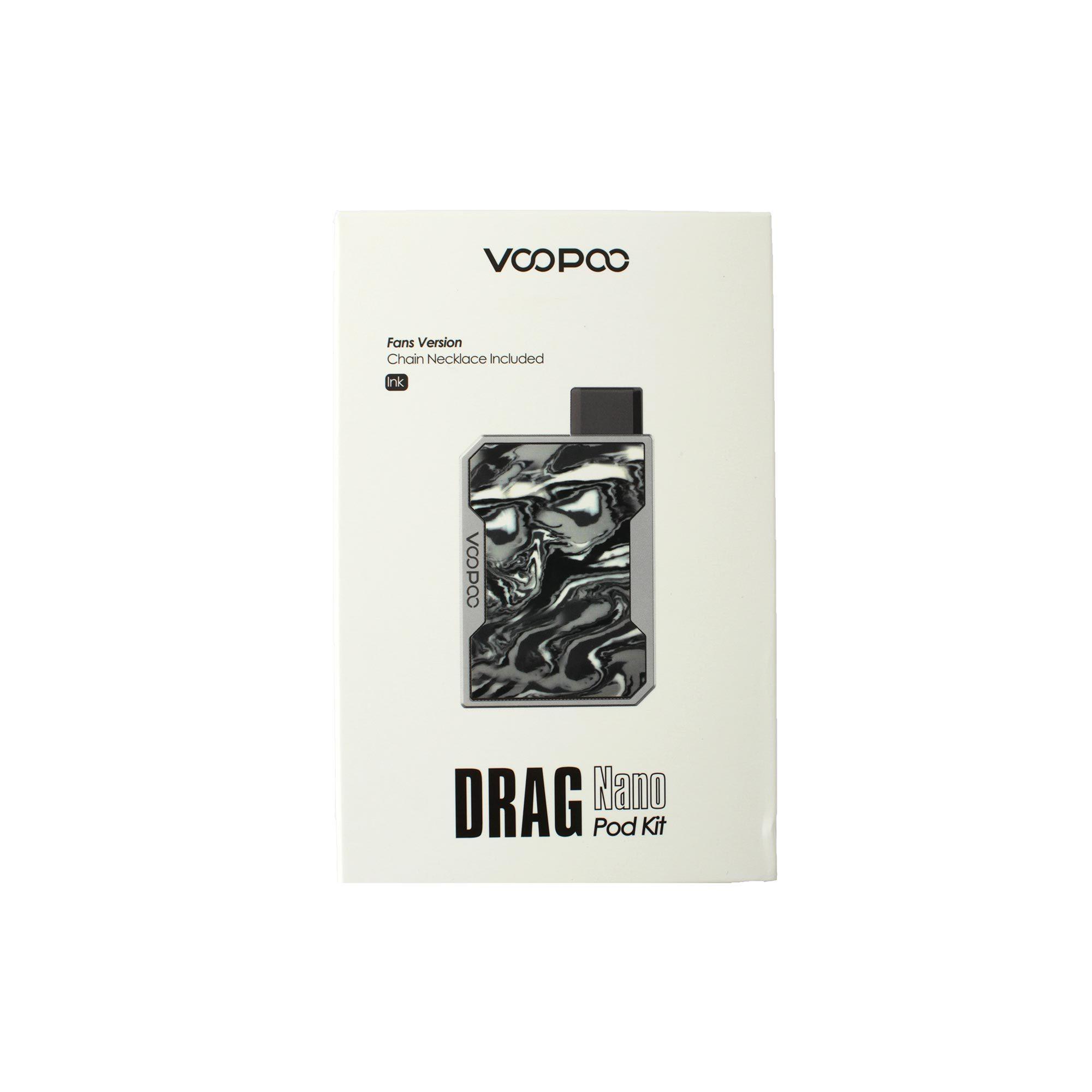 Фирменная коробка для Pod-системы Voo Poo DRAG Nano Pod Kit (фото 2)