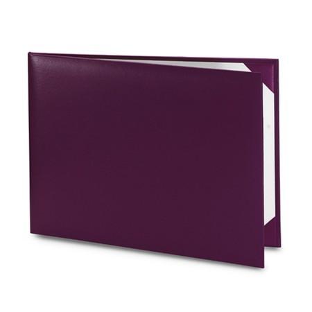 Обложка / корочка «Колор» для диплома или сертификата (фиолетовая)
