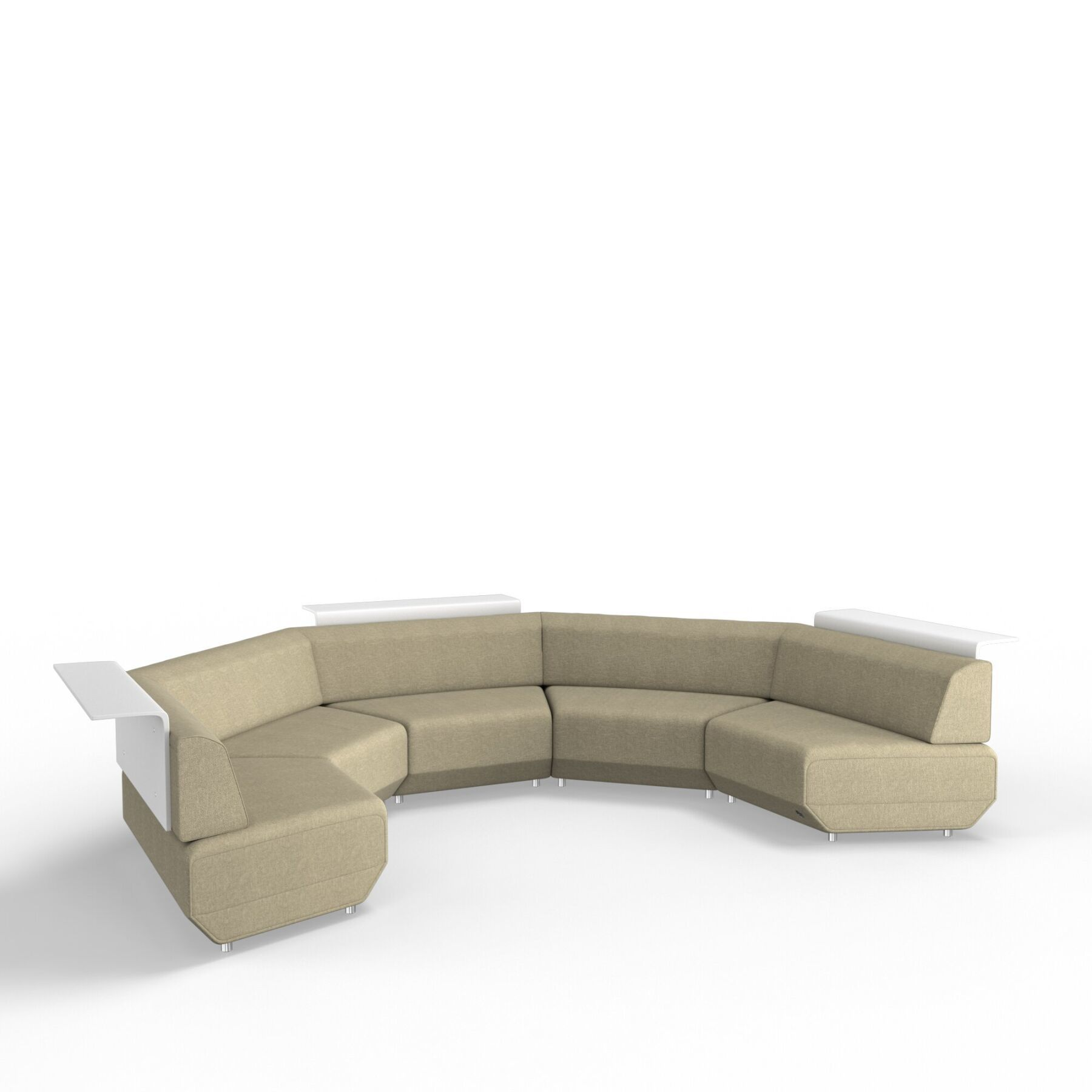 Мягкое кресло KULIK SYSTEM SLICE Ткань Конструктор